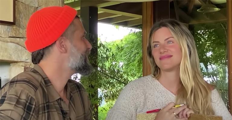 A apresentadora relembrou a emoção de conhecer a filha, Titi:
