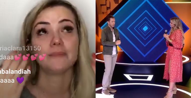 Em transmissão ao vivo realizada por CONTIGO!, ex-BBB foi às lágrimas ao lembrar período pós-programa