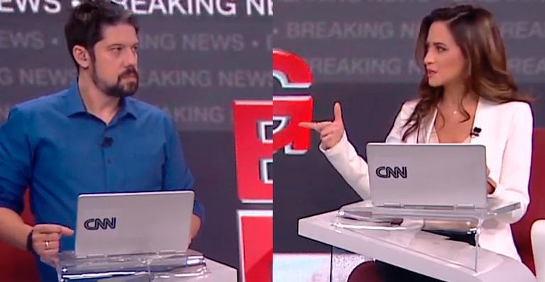 Ops! Jornalista acabou soltando um palavrão no meio do programa; veja