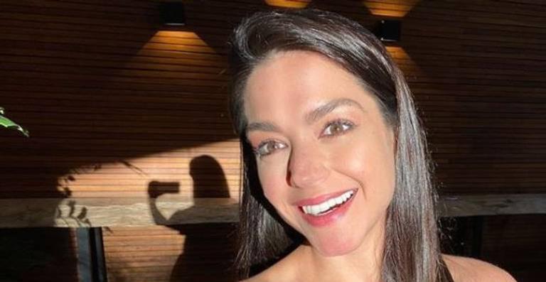 Cumprindo quarentena em casa, atriz usou as redes sociais para relembrar passeio antigo