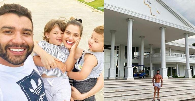 Sertanejo vive em paraíso no estado de Goiás com mais de 15 metros quadrados