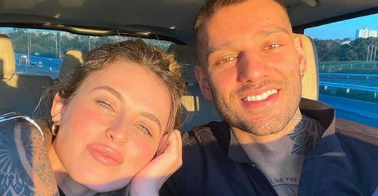 Lorena Carvalho presta linda homenagem ao noivo e web se encanta