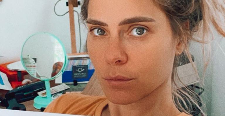 A atriz fez algumas selfies com José e, claro, não deixou de compartilhar nas redes sociais
