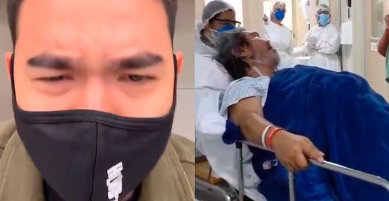 Ex-apresentador do 'Bom Dia & Cia' está sofrendo a perda da avó por coronavírus; veja