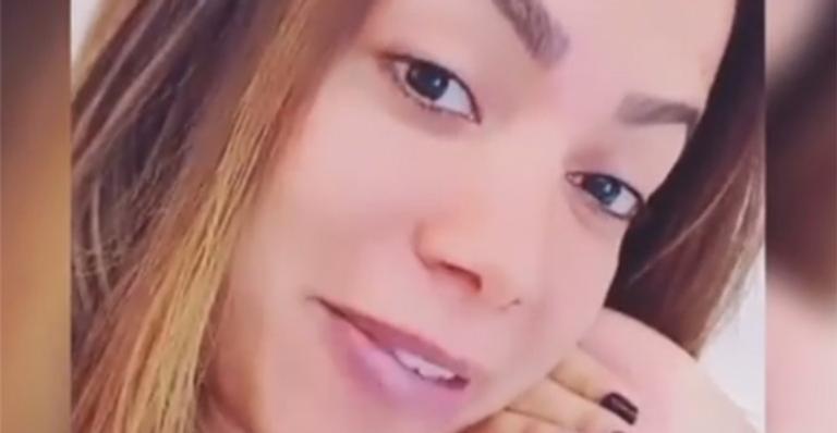 Cantora apareceu nas redes sociais e mandou um recado para o responsável pelo vazamento
