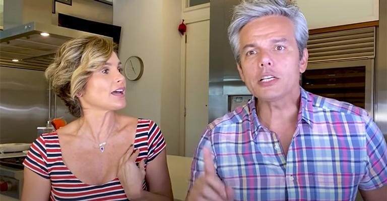 Ao fazer revelações picantes, casal acabou protagonizando momento constrangedor