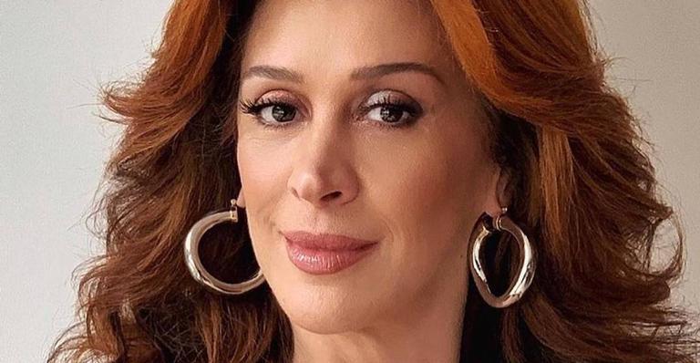 A atriz compartilhou o clique na tarde desta segunda-feira (1)