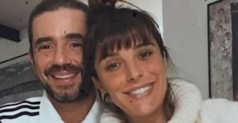 A jornalista encantou os internautas ao fazer uma linda declaração ao marido, Felipe Andreoli