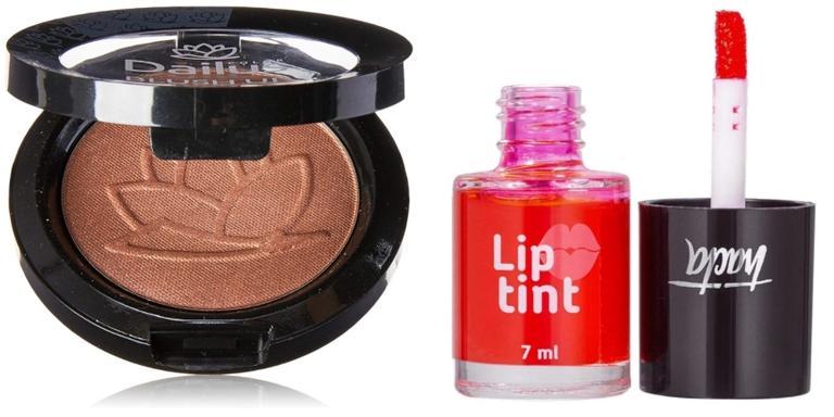 Sombra, lip tint e corretivos super práticos de usar e de longa duração