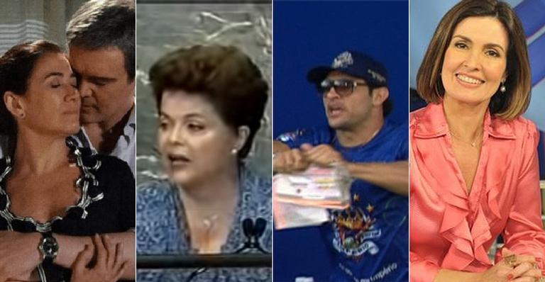 Fátima deixava o JN, Dilma fazia discurso histórico e o Brasil se despedia de grandes ídolos