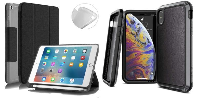 Capinhas e porta objetos protetores que facilitarão seu dia a dia com seu dispositivo
