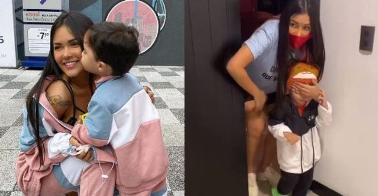 Ex-sister deixou web de queixo caído ao apresentar presente caríssimo para o filho de dois aninhos