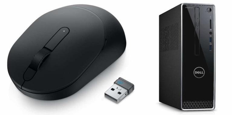 Monitor, notebook e mouse práticos e ideais para usar no dia a dia