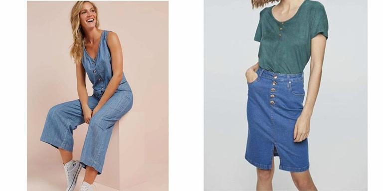 Selecionamos peças de jeans super para aproveitar na Amazon