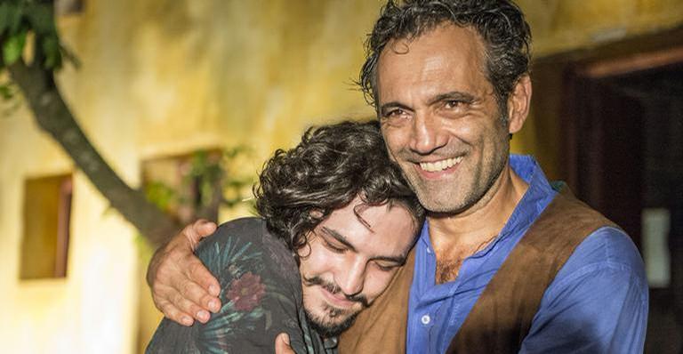 O ator se emocionou ao falar do amigo que faleceu em um acidente trágico, em 2016