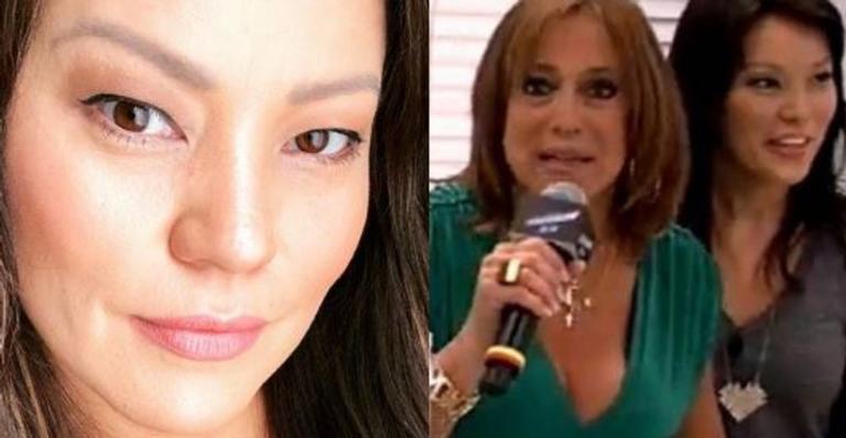 Longe das telinhas, apresentadora lembrou confusão com atriz ao vivo e comentou episódio