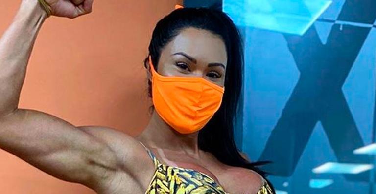 Musa fitness garante que engordou, mas corpão diz o contrário; veja