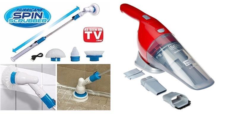 Mop spray, robô aspirador e muito mais para uma limpeza prática todos os dias
