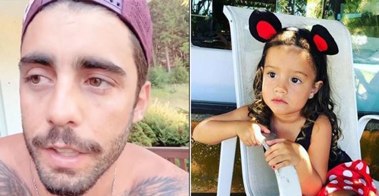 Em comunicado nas redes sociais, pai dos filhos de Luana Piovani explicou o que aconteceu