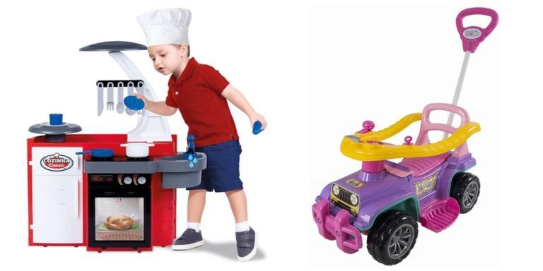 Itens perfeitos para as crianças se divertirem e gastarem energia ao ar livre