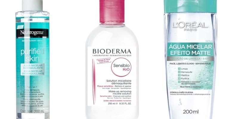 Listamos 7 modelos de água micelar para cuidar da pele com praticidade