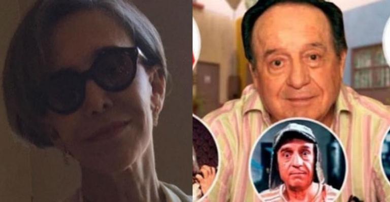 'Dona Florinda' ainda falou sobre a memória do falecido marido, Roberto Gómez, o Chaves