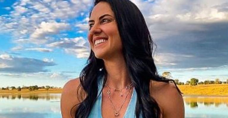 Esposa de Zezé di Camargo deixou fãs babando ao exibir curvas poderosas em vestido justinho