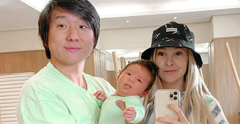 Esposa do ex-brother, Sammy Lee relatou susto com o filho de 5 meses após ter que ir às pressas a hospital