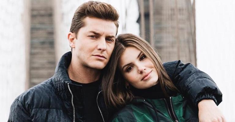 O casal começou o relacionamento durante as gravações da novela 'Êta Mundo Bom'