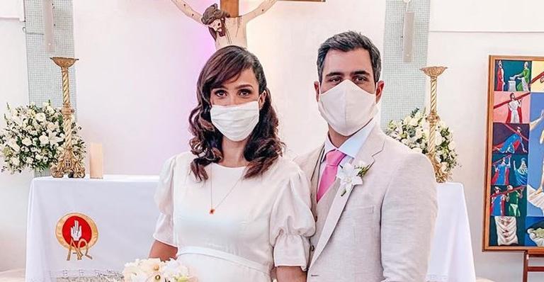 Juliano e a mulher já são casados no civil desde 2011 e estão a espera do 4° filho