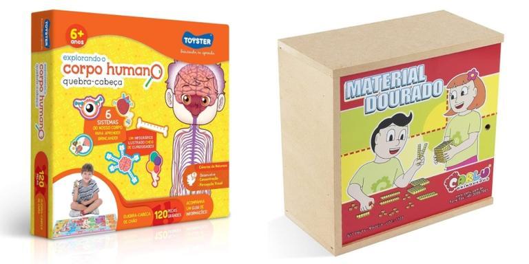 Selecionamos diversos modelos de brinquedos para o conhecimento dos pequenos