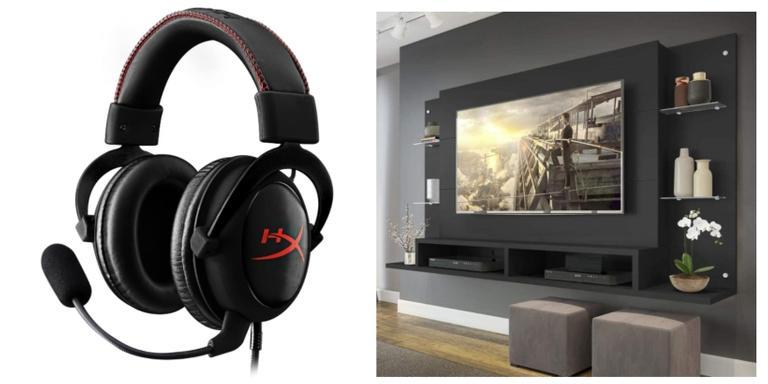 Panela de pressão, headset e painel de TV ideais para sua rotina do dia a dia