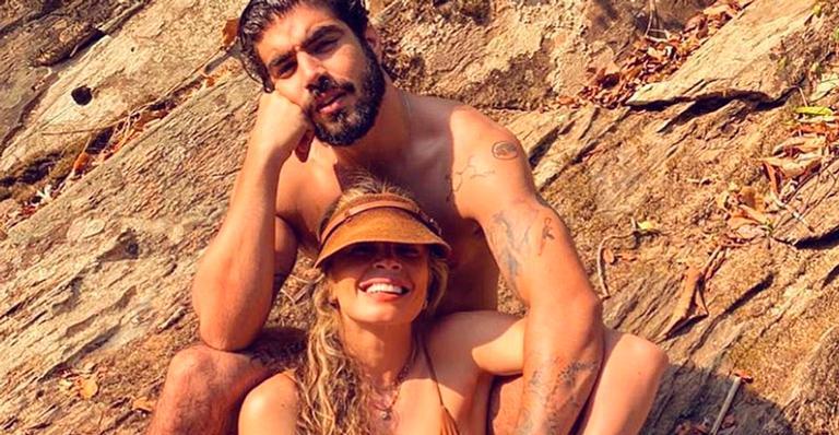 Curtindo uma viagem no Mato Grosso, casal de atores compartilhou momento a dois; veja