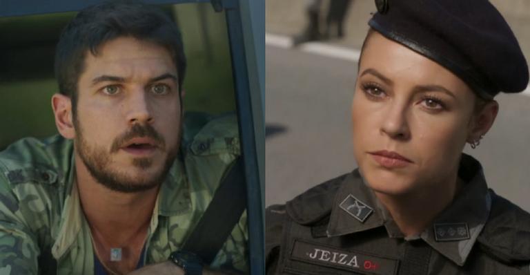 No primeiro capítulo em que a policial aparece, ela terá um encontro daqueles com o caminhoneiro
