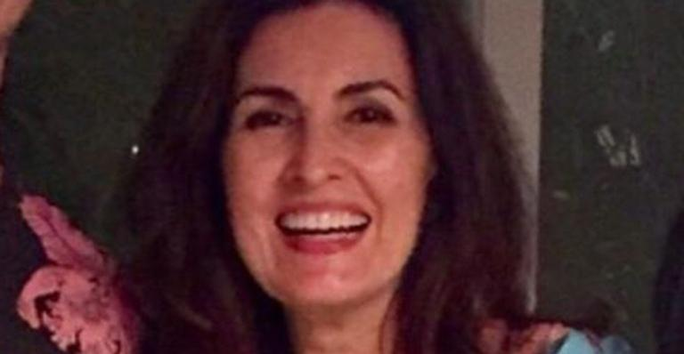 A apresentadora não escondeu a felicidade de ser mãe dos seus filhos