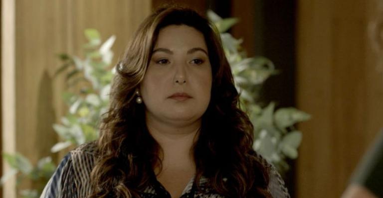 A atriz contou que sofreu muito nos bastidores da trama de Gloria Perez
