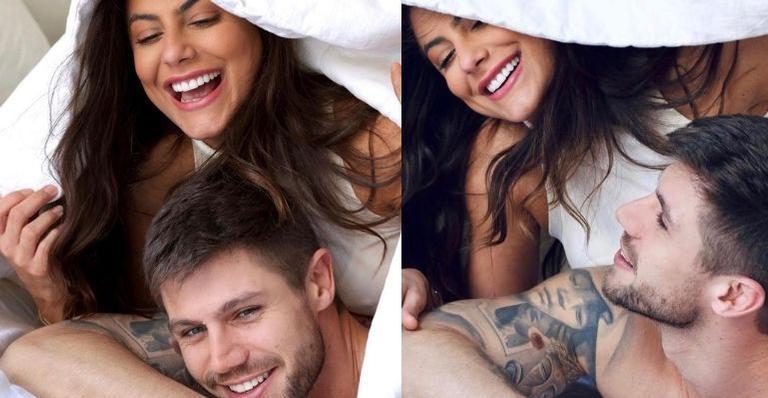 A beleza do casal travou a web:
