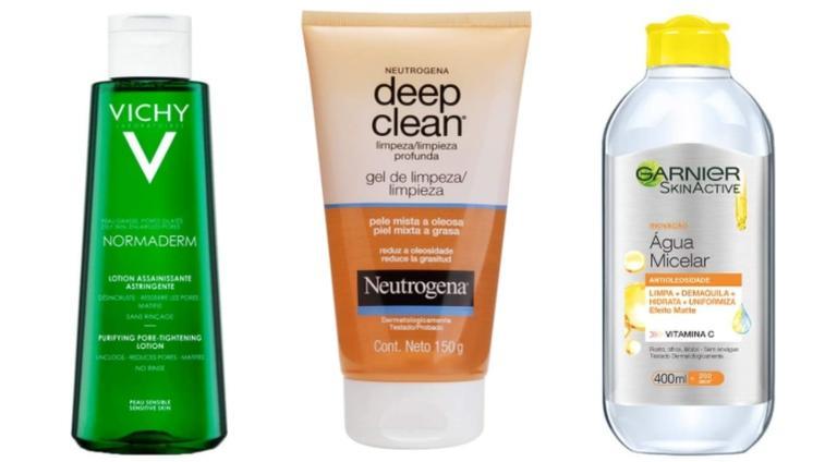 De gel de limpeza à água micelar, preparamos uma lista com 5 produtos que você precisa conhecer