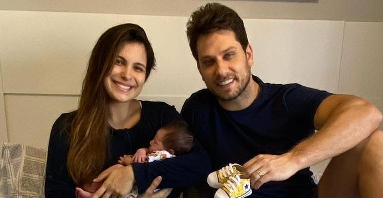 Kamilla está completamente encantada desde o nascimento do herdeiro, Bento