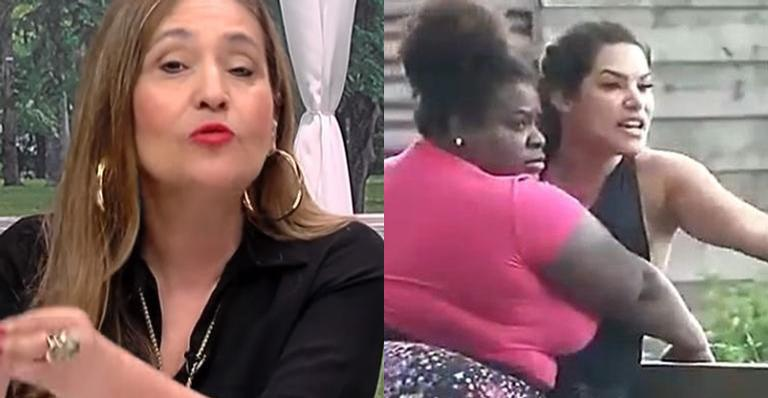 Sem rabo preso, ela cobrou uma posição da emissora após cenas lamentáveis preocuparem fãs
