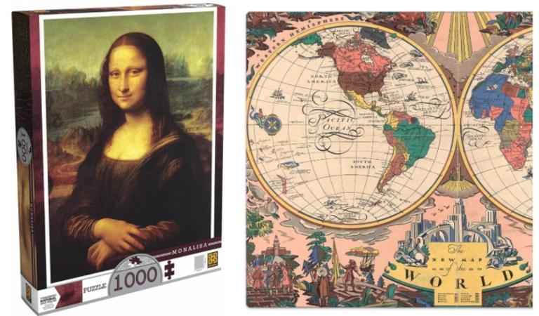 De 500 a 2000 peças, selecionamos 8 quebra-cabeças que vão te conquistar