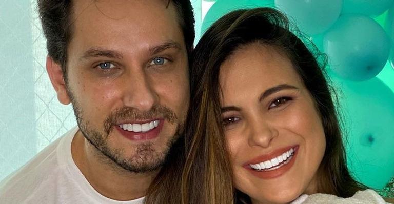 A influencer e o marido, EliéserAmbrósio, se conheceram na 10° edição do reality