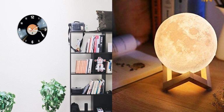 Luminária, capacho, suporte para livros e outros itens que vão dar um toque a mais no ambiente