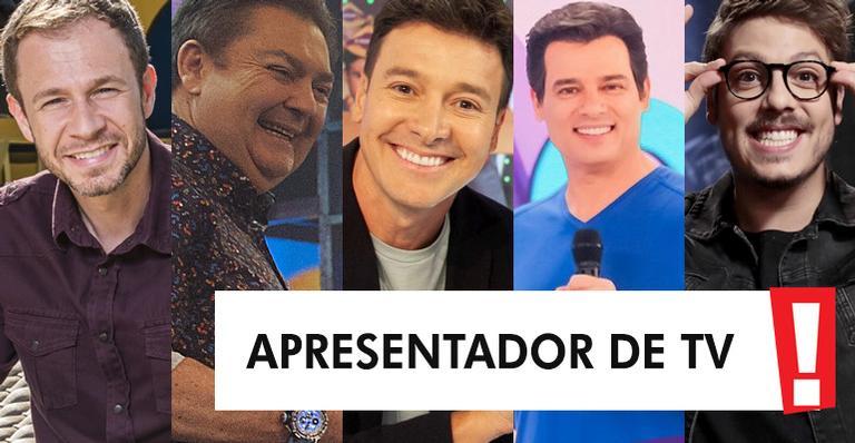 Conheça os indicados ao posto de melhor apresentador de TV do ano; vote!