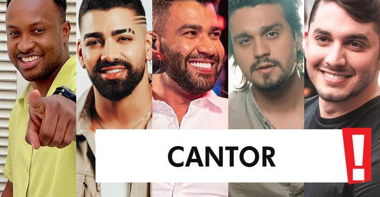 Conheça os indicados ao posto de melhor cantor do ano; vote!