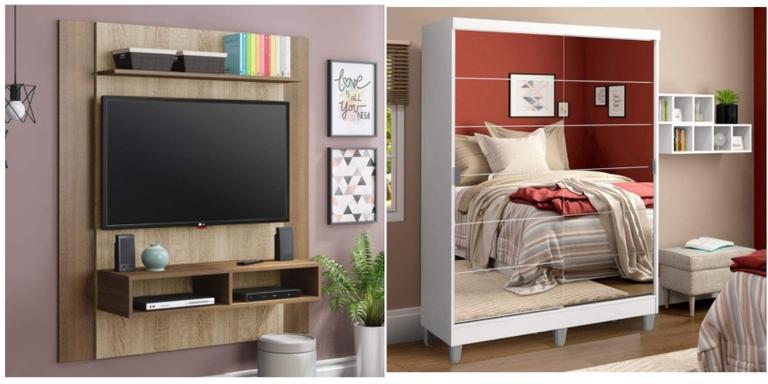 Selecionamos os melhores móveis para deixar seu lar maravilhoso e renovado