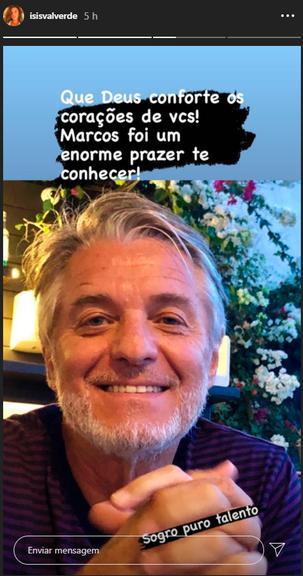 Marcos Resende, sogro de Isis Valverde