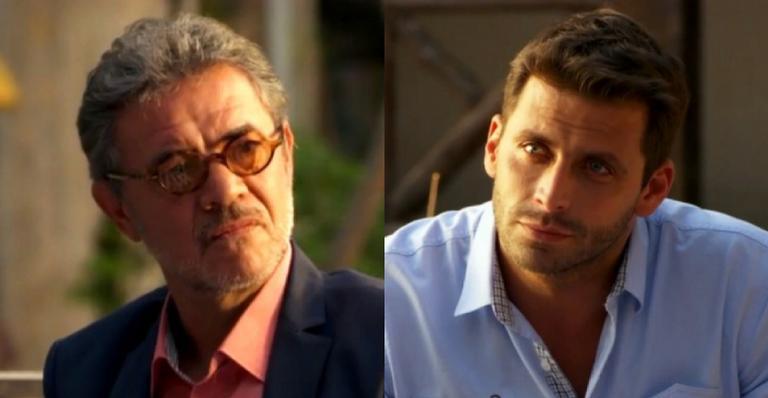 Após uma conversa, os amigos armam plano para destruir a família de Alberto; confira o que estão planejando