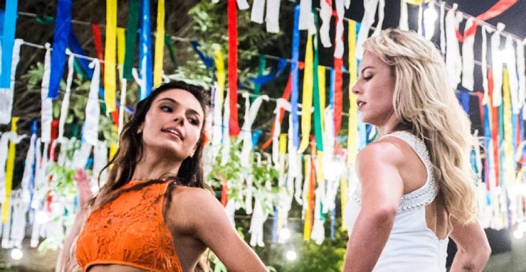 As duas arrasam dançando carimbó, em um misto de rivalidade e diversão; saiba o que vai acontecer
