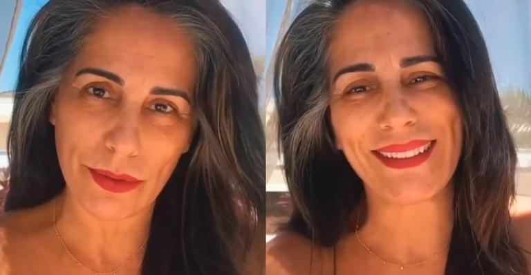 Gatíssima, atriz mostrou-se plena em campanha publicitária; veja